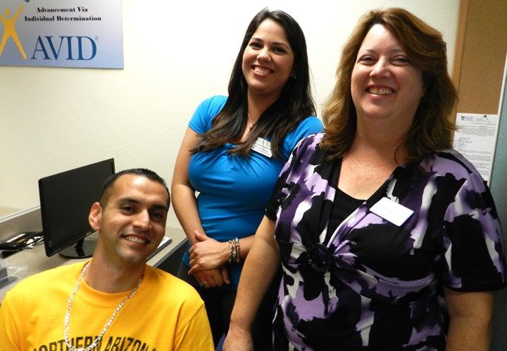 Photos: From left to right are Sergio Bobadilla, Marcy Hurtado. Photo by Kim Oliveros.