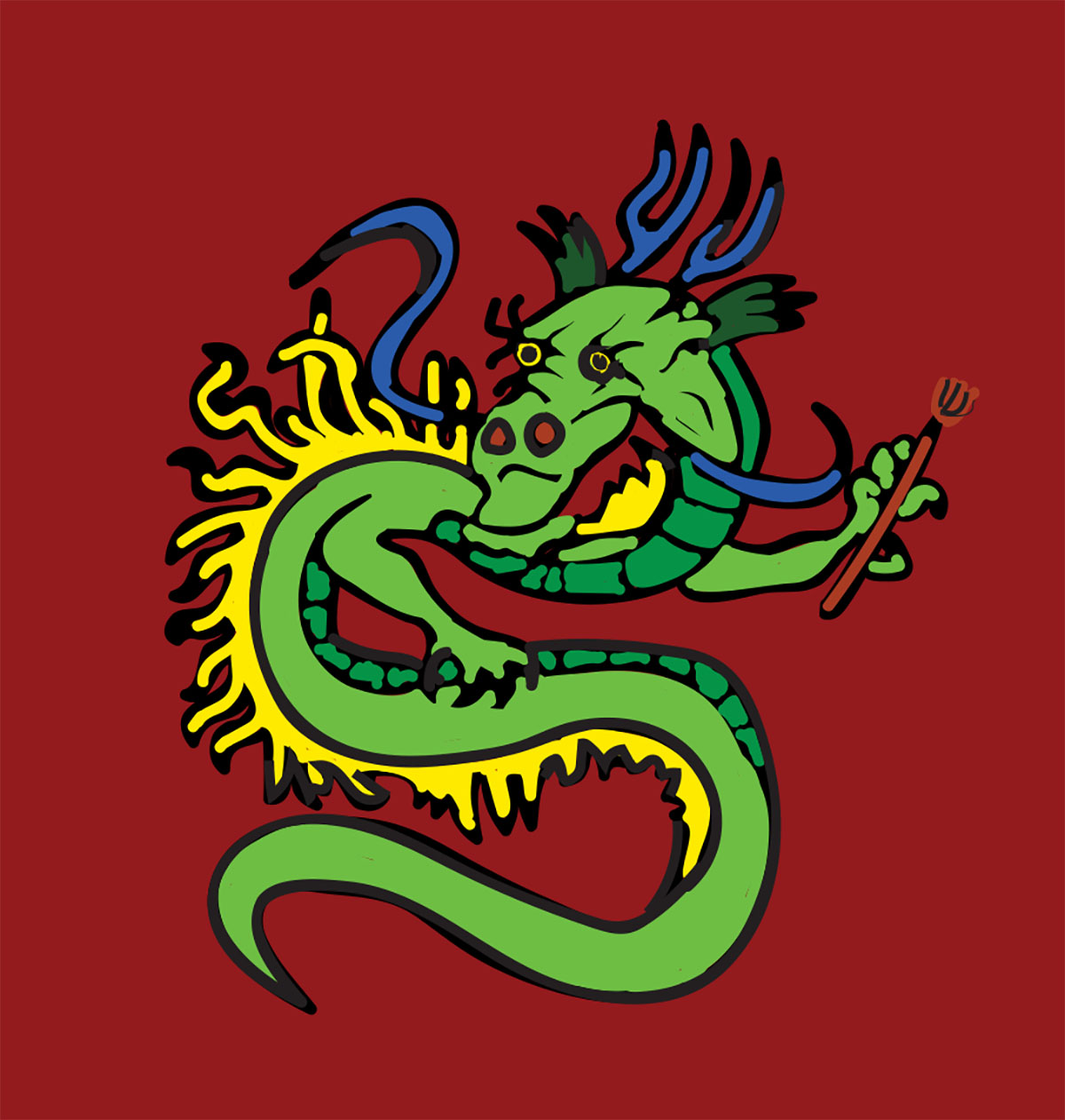 The Chinese Dragon Western Voice