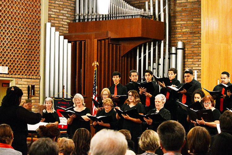 Yuma Chorale under the direction of Professor of Music Deltrina D. Grimes